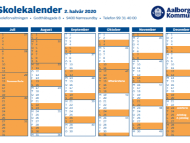 Skole Ferie I Danmark 2020